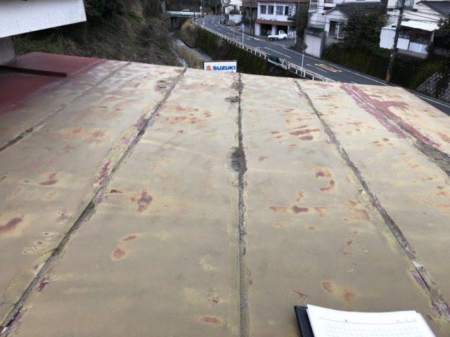 鹿児島市屋根雨漏れ現地調査