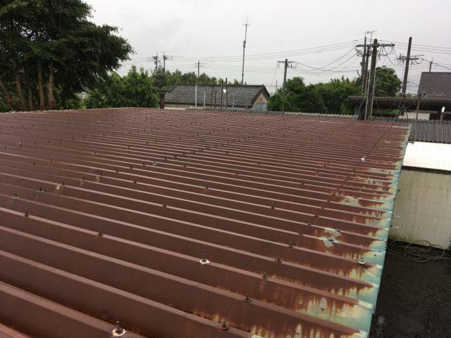 工場屋根 施工前