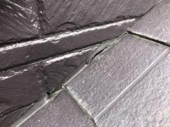 屋根・壁部分コーキングの劣化