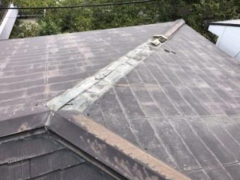 台風災害棟板金被害
