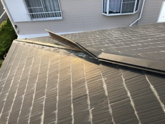 鹿児島市の屋根台風被害