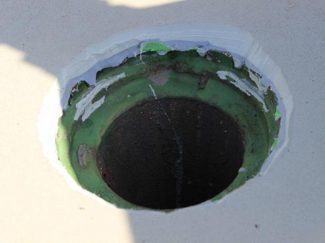 防水層の厚み