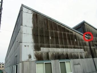 工場の屋根の形状