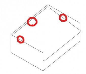 三方パラペット