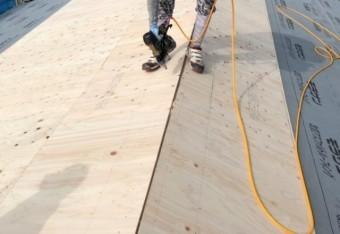 鹿児島市葺き替え工事下地施工