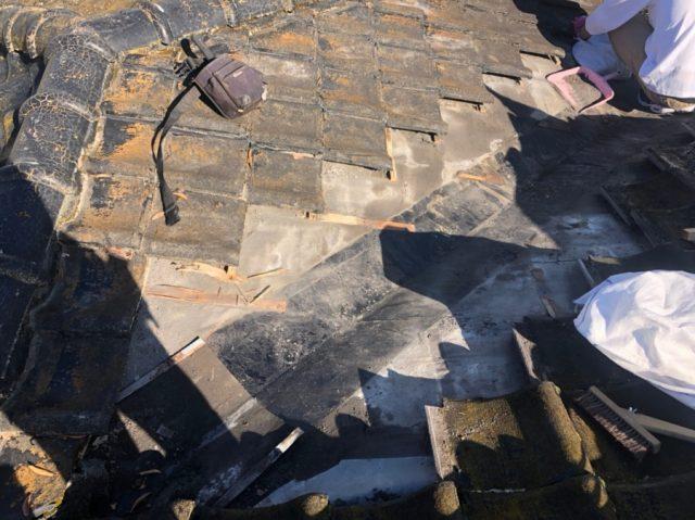 棟板金雨漏れ補修