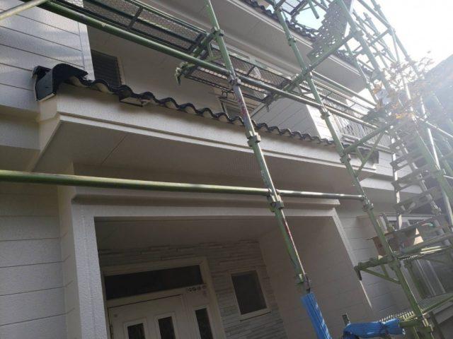 鹿児島市の雨樋取替工事