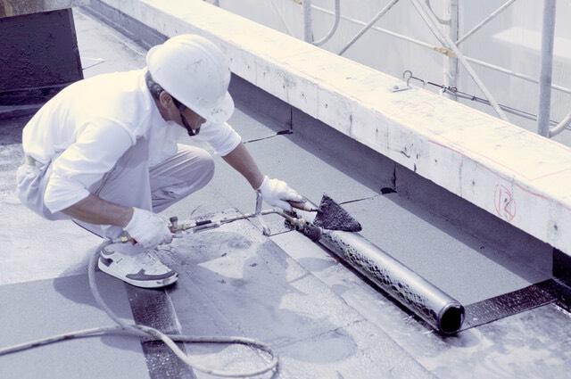 防水工事施工方法