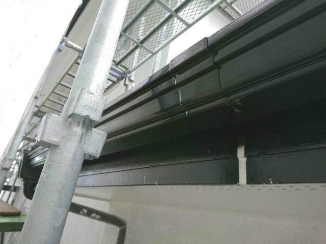 屋根工事 単管足場