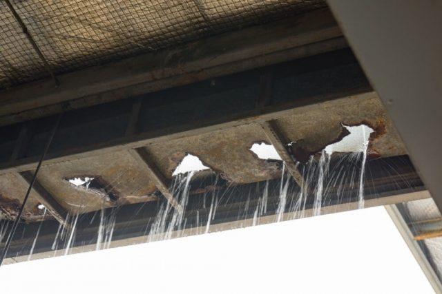 倉庫の屋根の張替をしたい