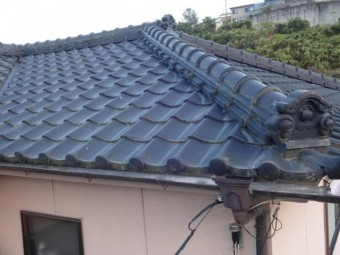 瓦屋根のリフォーム工事