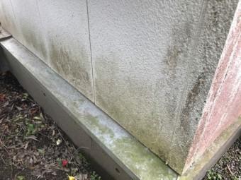 外壁汚染状況