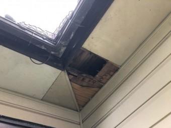 鹿児島市の屋根調査で発見した軒天の劣化