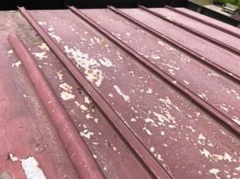 トタン屋根 剥がれ
