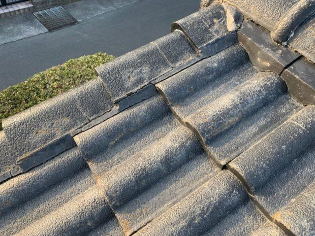 鹿児島市屋根点検雨漏れ発生部分
