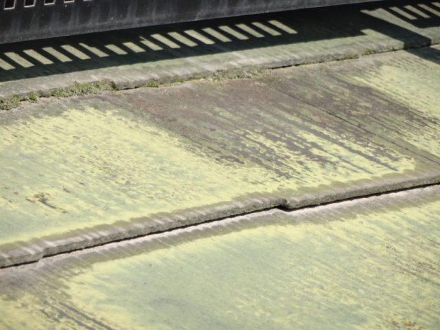 鹿児島市の屋根調査の様子