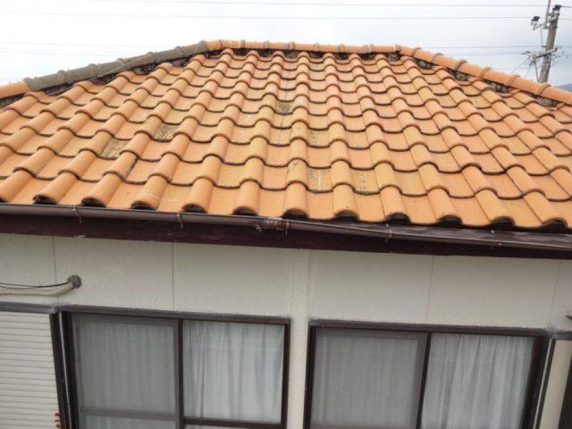 鹿児島市 屋根調査の様子