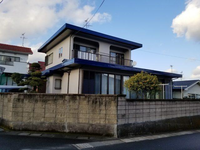 鹿児島市明和で屋根の補修塗装をした事例