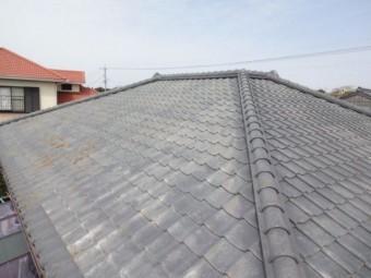 鹿児島市 セメント瓦の屋根
