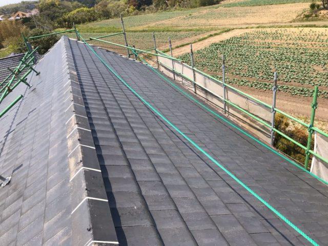 【鹿児島県志布志市】志布志町夏井で183平方メートルの屋根を塗装します屋根下塗り_1_予備1
