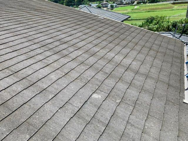 屋根のルーフィング貼り付け前