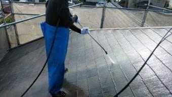 鹿児島市塗装工事屋根高圧洗浄