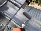 鹿児島市 セメント屋根塗装工事