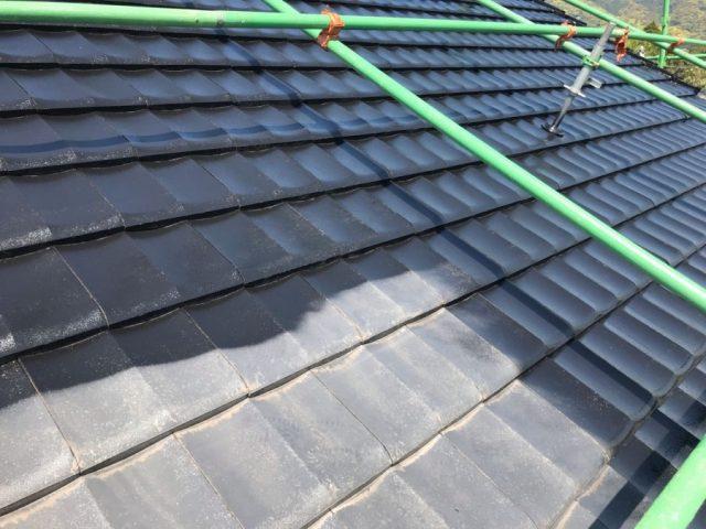 【鹿児島県志布志市】志布志町夏井で183平方メートルの屋根を塗装します屋根中塗り_1_確定