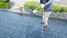 屋根塗装工事 2回目塗装