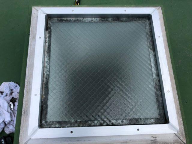 鹿児島市の陸屋根天井窓