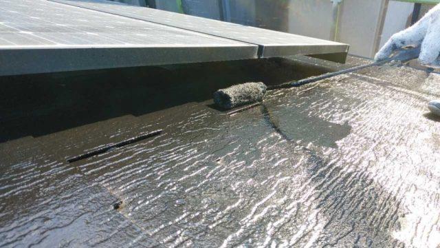 鹿児島市での屋根塗装工事