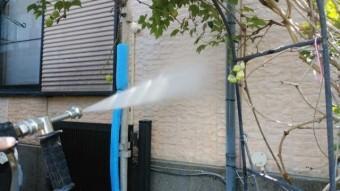 鹿児島市塗装工事 外壁高圧洗浄