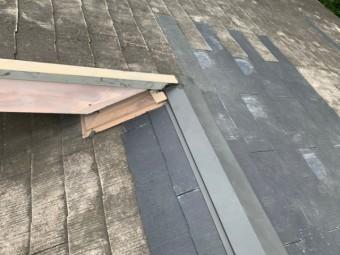 雨漏り補修工事 板金
