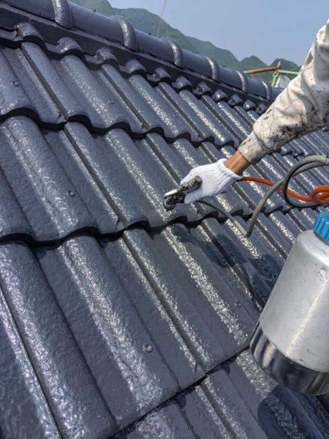 姶良市の屋根塗装工事が開催