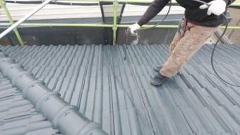鹿児島市で屋根塗装工事