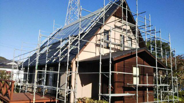 薩摩川内市の隈之城で屋根・外壁塗装の事例