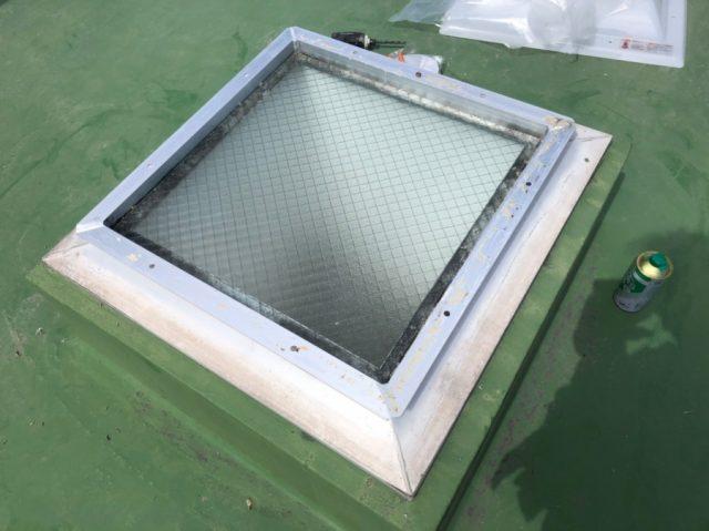 鹿児島市天窓ドームの撤去の様子