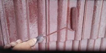 【鹿児島県霧島市】郡田にある三角屋根の住宅でセメント瓦の塗装をおこないました!上塗り