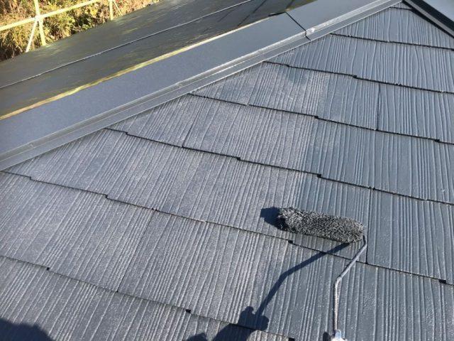 鹿児島市でのスレート屋根塗装工事