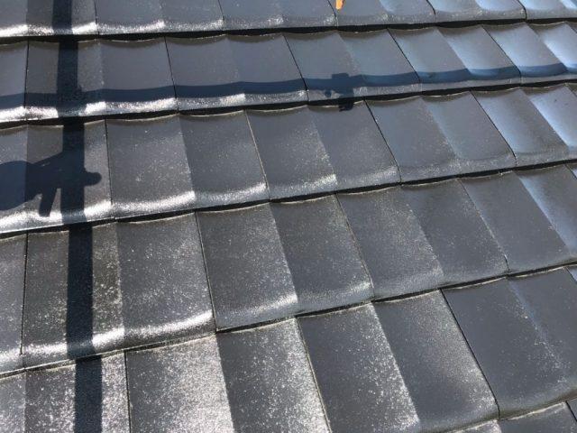 【鹿児島県志布志市】志布志町夏井で183平方メートルの屋根を塗装します屋根上塗り_1_確定