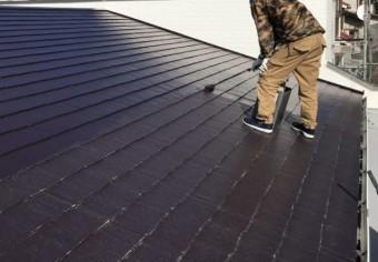 鹿児島市屋根上塗り塗装工事