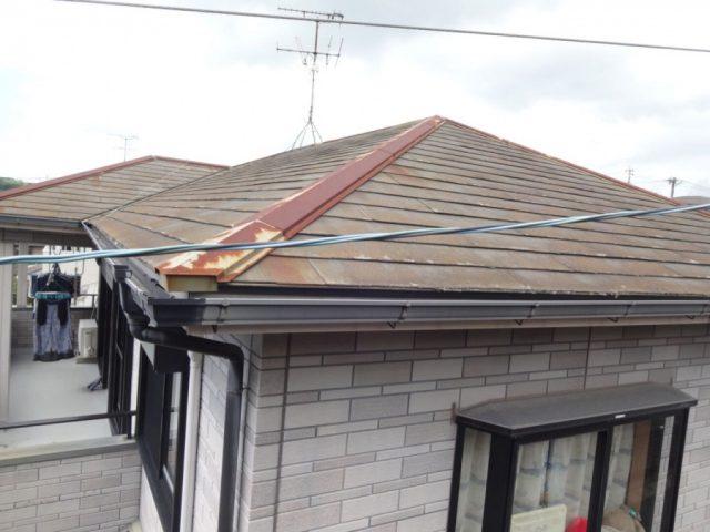 鹿児島市屋根劣化の様子