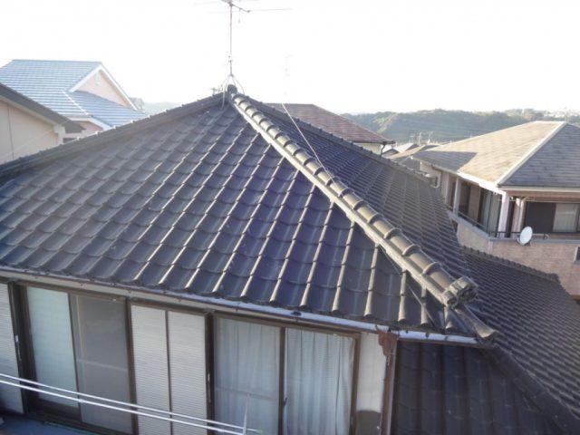 屋根工事前の様子