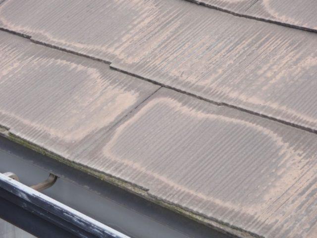コロニアル屋根の褪色