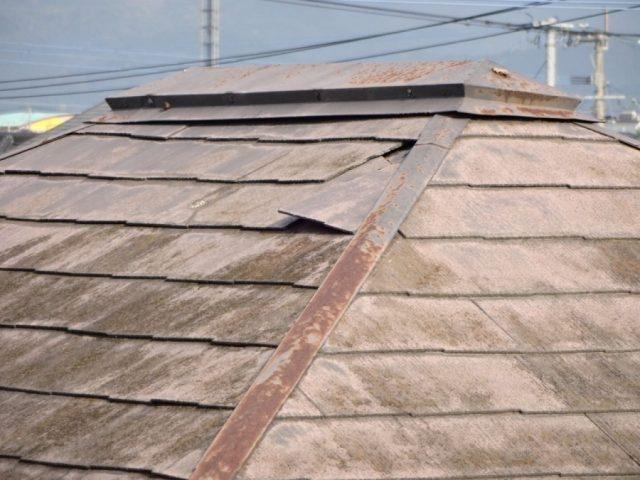 屋根の傷みの様子