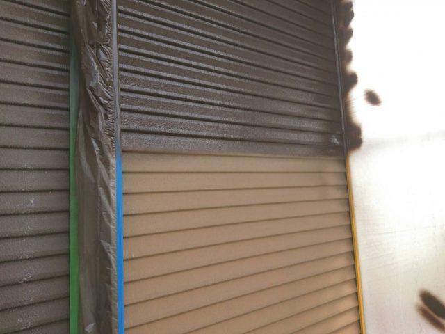 【鹿児島県志布志市】志布志町夏井で183平方メートルの屋根を塗装します雨戸上塗り_1_確定