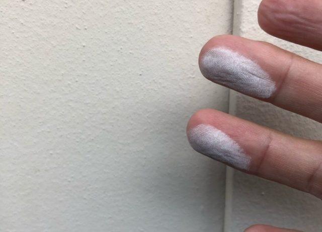 鹿児島市の外壁塗装工事前の様子