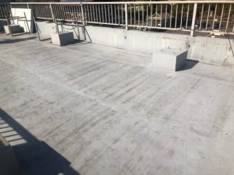 ビル屋上のウレタン防水の傷み