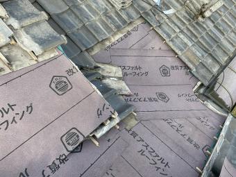 谷樋 交換 セメント瓦