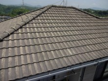 鹿児島市での屋根点検の様子